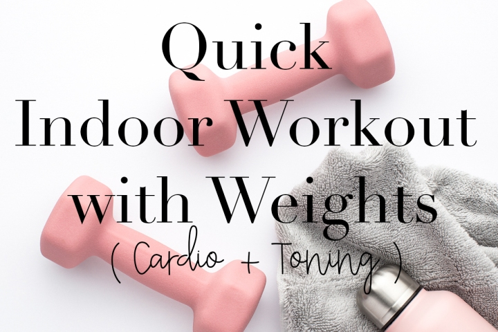 Indoor Workout with Weights
