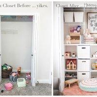 Closet Makeover: Drab to Fab
