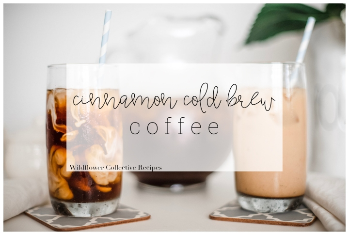 Cinnamon Cold Brew