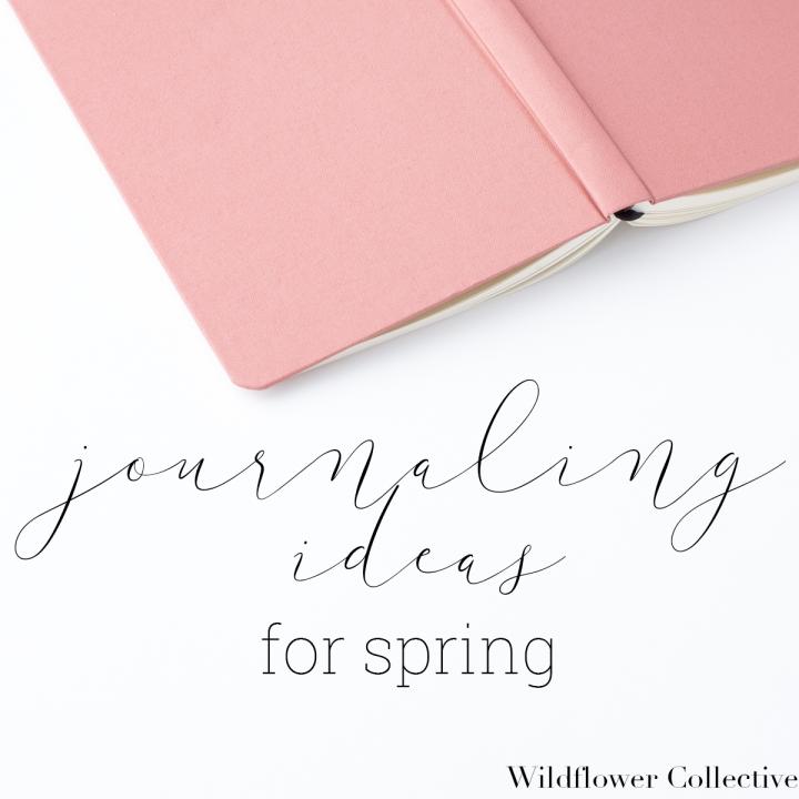 Journaling for Spring