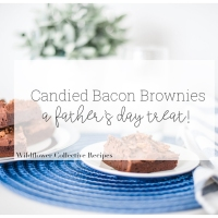 Candied Bacon Brownies - A Father's Day Treat!