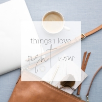 Things I love....