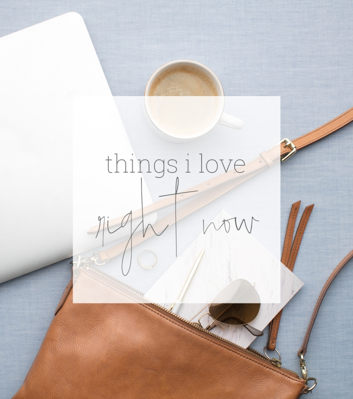 Things I love….