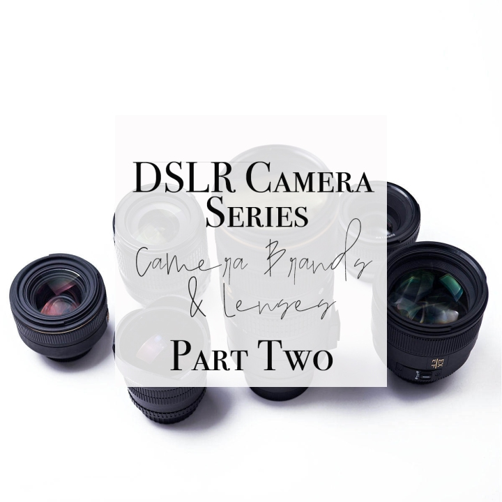 DSLR Camera: Beginner Tutorial – Cameras and Lenses